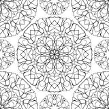 Abstract background with mandalas. Royalty Free Stock Images