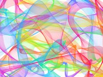 Chaosed lines. Abstract background with many chaosed lines royalty free illustration