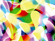 Abstract background with many colour. Abstract background with many colors and asymmetrical shapes vector illustration