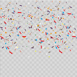Abstract background with many falling tiny confetti pieces. background. Abstract background with many falling tiny confetti pieces. background Vector Illustration