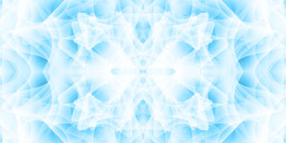 Abstract background with many overlapping shapes. Shades of blue. Stock Image