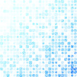 Abstract background with many squares with rounded corners. Optical effects. Shades of blue Royalty Free Stock Images