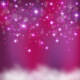 Abstract background with many star Royalty Free Stock Photo