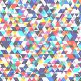 Abstract background with many triangles. Vibrant shades of colors. Form overlay Stock Photos