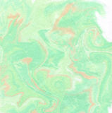 Abstract background marble texture. Abstract background in lime, green, terracotta tones. Imitation velvet surface. Ink texture, watercolor hand drawn marbling Stock Image