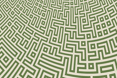 Abstract background with maze pattern.  royalty free illustration