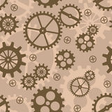 Abstract background with mechanism Royalty Free Stock Images