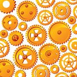 Abstract background with mechanism details Royalty Free Stock Image
