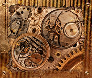 Abstract background with mechanism. Stock Photography