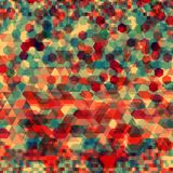 Abstract background with messy polygon shapes. Abstract background with messy colorful polygon shapes Royalty Free Stock Photography