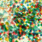 Abstract background with messy polygon shapes. Abstract background with messy colorful polygon shapes Royalty Free Stock Photos