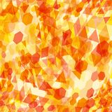 Abstract background with messy polygon shapes. Abstract background with messy colorful polygon shapes Stock Illustration