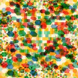 Abstract background with messy polygon shapes. Abstract background with messy colorful polygon shapes vector illustration