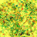 Abstract background with messy polygon shapes. Abstract background with messy colorful polygon shapes Stock Photos