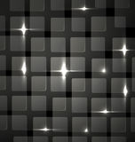 Abstract background -  metal club mosaic Stock Image