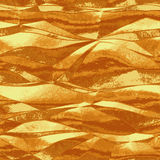 Abstract background of metal foil gold texture Royalty Free Stock Photos