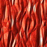 Abstract background of metal foil resembling flame Stock Images