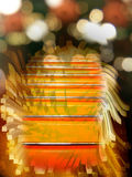 Abstract background with metal lines Stock Photos