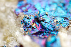 Abstract background from a metal mineral. Stock Photography