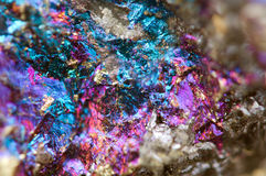 Abstract background from a metal mineral. Royalty Free Stock Photography