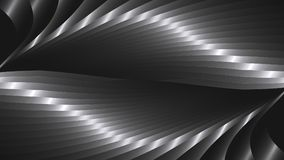Abstract  background with metal waves. Abstract background with metal waves. 16:9 format. Vector illustration Stock Photography