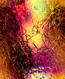 Abstract background with metalic structure and reflections. Royalty Free Stock Image