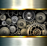 Abstract background metallic Royalty Free Stock Image