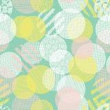 abstract background modern Βαλμένο σε στρώσεις κατασκευασμένο άνευ ραφής διανυσματικό σχέδιο κύκλων Διαφορετικό ροζ αδιαφάνειας σ διανυσματική απεικόνιση