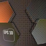 Abstract background modern carbon fiber, vector illustration. Abstract background modern carbon fiber, vector Royalty Free Stock Photos