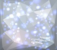 Abstract background. Abstract modern light background with label, can be used for website, info-graphics Royalty Free Stock Photo