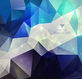 Abstract background. Abstract modern background with polygons Stock Image