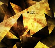 Abstract background. Abstract modern background with polygons. Abstract modern background with polygons Royalty Free Stock Images