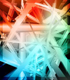 Abstract background. Modern shapes futuristic Royalty Free Stock Images