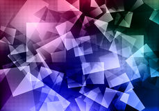 Abstract background. Modern shapes shiny Royalty Free Illustration
