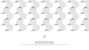 Abstract background in modern style. Hexagons concept. Vector. Abstract background in modern style. Hexagons concept. White. Vector illustration vector illustration