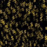 Abstract background with money. Euro royalty free illustration