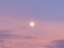 Abstract background : Moon sunlight cloud and sky in evening. Abstract background : Moon sunlight cloud and sky royalty free stock photo