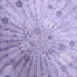 Abstract background with mosaic. Abstract background with squares, sunburst and circles Royalty Free Stock Image