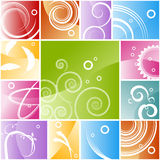 Abstract Background Mosaic Royalty Free Stock Photography