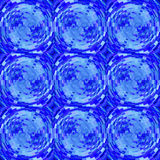 Abstract Background. Abstract Mosaic Background in Blue Colors for Design Royalty Free Stock Photography