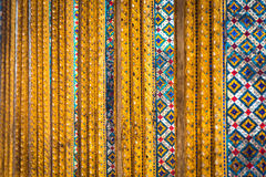Abstract background of mosaic decoration Stock Image