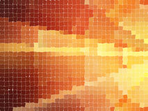 Abstract background. With mosaic pattern Royalty Free Stock Photography