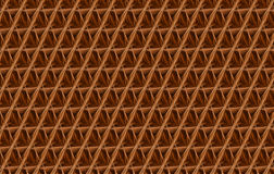 Abstract background. With a mosaic pattern of yellow - brown - orange tones Stock Image