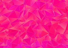Abstract background, mosaic triangulated Stock Image