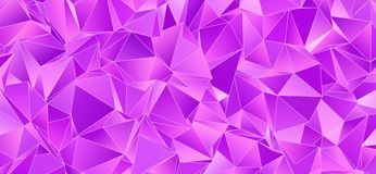 Abstract background, mosaic triangulated Stock Photography