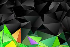 Abstract background. mosaic triangulated texture Royalty Free Stock Image
