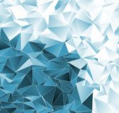 Abstract background. mosaic triangulated texture Royalty Free Stock Photography