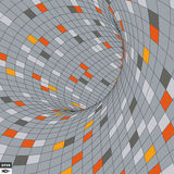 Abstract background. Mosaic. Vector illustration. Royalty Free Stock Images