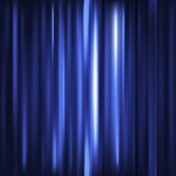 Abstract background. Motion blue vertical lines. Vector technolo Stock Photo