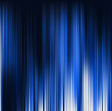 Abstract background. Motion blue vertical lines. Vector technology backdrop Royalty Free Stock Photography